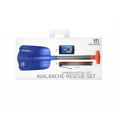 Ortovox Avalanche Rescue Set (3+, badger, Alu 240)