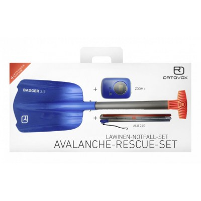 Ortovox Avalanche Rescue Set (Zoom+, Badger, Alu 240)