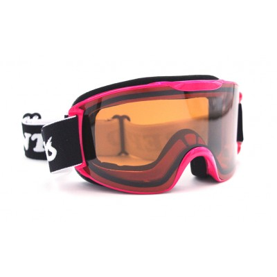Intrepid Goggles AG0205 Adult, Pink, Doub